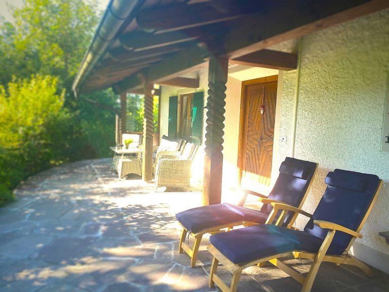 Freisitz Ferienwohnung Löwenzahn Haus Sonneck Pfronten