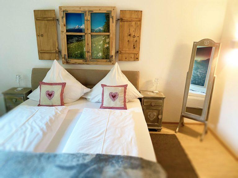 Schlafen Ferienwohnung Gänseblümchen Haus Sonneck Pfronten