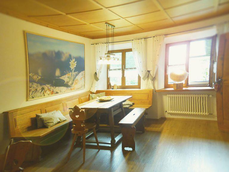 Essen Ferienwohnung Edelweiss Haus Sonneck Pfronten